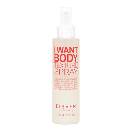 I want body texture spray pour du volume et de la matiere
