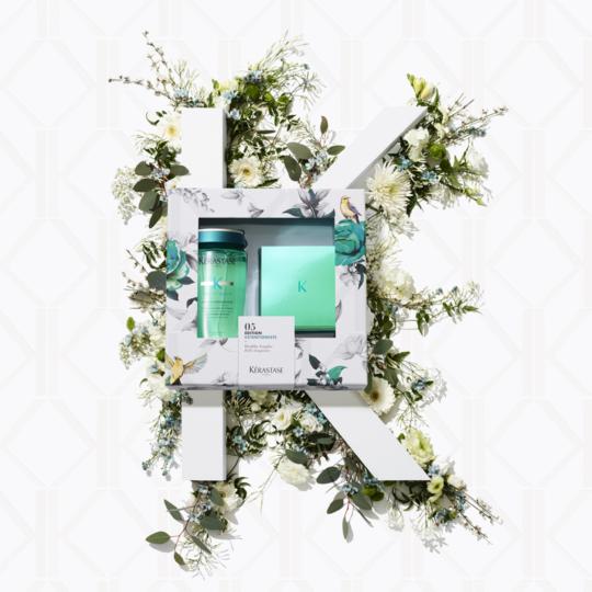 coffret S'box extentioniste Kerastase shampooing offert pour l'achat d'un masque