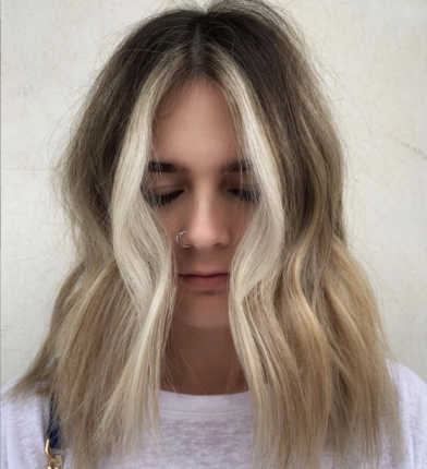 rogue hair coloration tendance